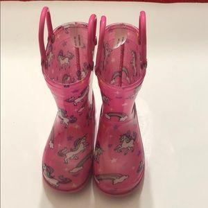 Infant rain boots